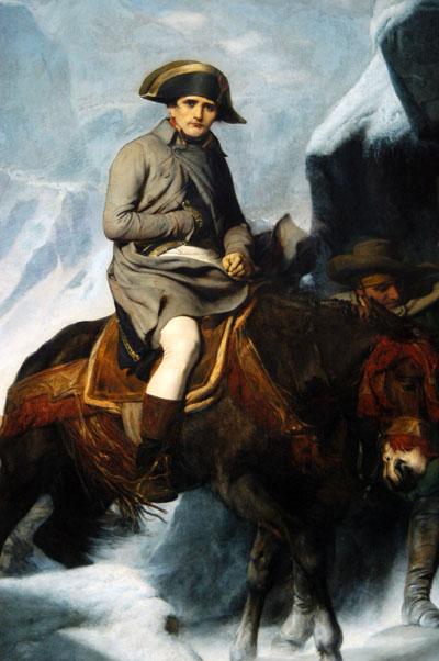 Bonaparte Crossing the Alps, 1848, Paul Delaroche (1797-1856)
