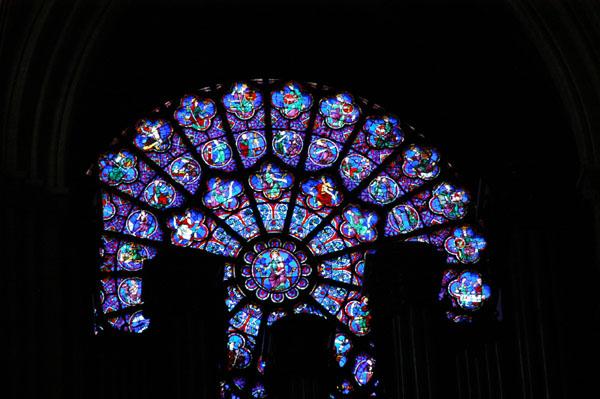 Rear Rose Window of Notre Dame