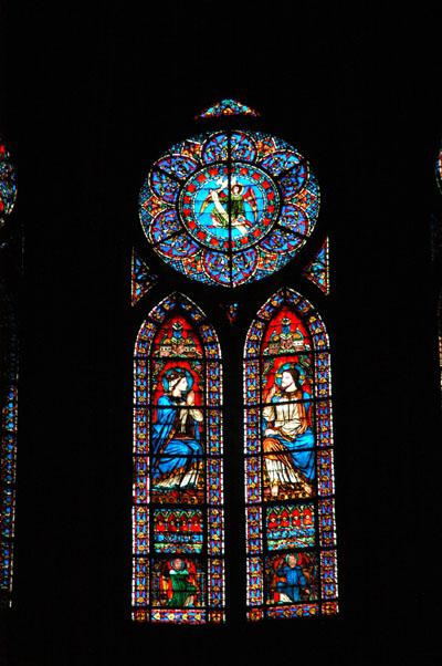 Stained glass, Notre Dame de Paris