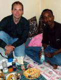 On our last day, Suleiman invited us to his home for lunch.