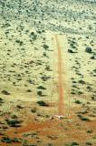 The worst runway of the trip, Ellingerode, Namibia