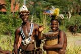 Musicians at the Zambezi Sun, Livingstone, Zambia