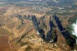 Victoria Falls Bridge and the lower Zambezi gorges