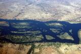 Zambezi River, upstream of Victoria Falls