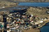 Another pass over Lüderitz before landing