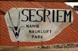 Sesriem entrance to Namib Naukluft National Park