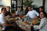 Lunch at the Thuringer Hof, Windhoek