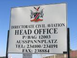 The Directorate of Civil Aviation is located behind the Game store