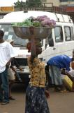 Carrying fruit to market
