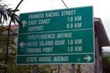 Distances on Mahé Island are small