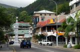 Victoria, the capital of the Seychelles
