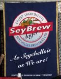 SeyBrew, the local beer of the Seychelles