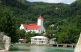 Church near the airport on Mahé Island, Seychelles