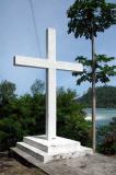 Seaside cross, Port Launay