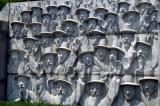 Monument outside the Jongmyo Shrine