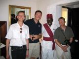 Meet the Butler, Royal Livingstone Hotel