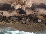 Wreck of the Otavi surrounded by a Cape Fur Seal colony