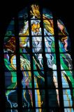 Art Nouveau stained glass window, Franciscan Church
