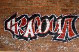 I saw Cracovia graffitti