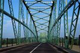 The Danube River Bridge from Štúrovo, Slovakia to Esztergom, Hungary