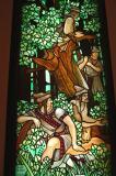Stained glass, Gellert Hotel