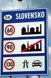 Slovakia speedlimits