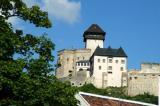 Trenčín Castle dates originially from the 11thC