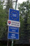 Entering Slovakia