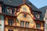 Many building in the old town are fancily painted