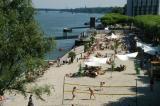 Rhine Beach, Strand am Rheinufer, Mainz