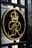 Monogram of King George VI