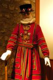 A Beefeater uniform from the reign of Queen Victoria