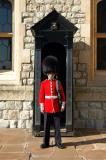 Jewel House guard, Tower of London
