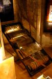 Exhibition of medieval torture devices