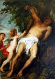 St. Sebastian succored by angels,1630-32, Antoon van Dyck (1599-1641)