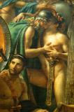 Detail from Louis David's Leonidas at Thermopyle