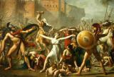 The Sabines, 1799, Louis David (1748-1825)