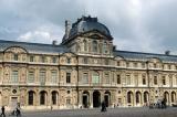 Pavilion de l'Horloge du Louvre (Sully Pavilion) built in 1640 under Louis XIII