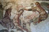 Mosaic fragment with an Amazon, 4th C. AD, Antakya, Turkey