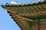 Roof detail, Junggungjeon, Changdeok Palace