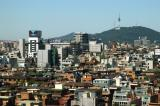 View from the Seoul Renaissance Hotel