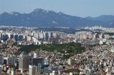 View north of Namsan Park