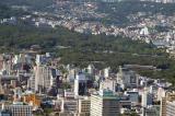 The park area is the Jongmyo Shrine and Changdeokgung and Changgyeonggung Palaces