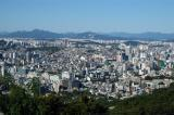 View north from Namsan Park