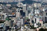 Downtown Seoul from Namsan Park