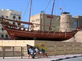 Dhow by the Dubai Museum