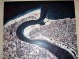 Dubai Museum - aerial photo of Dubai pre-oil