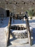 Old well in the courtyard, Dubai Museum
