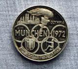 Munich Olypmic 5 Riyal coin from Fujairah