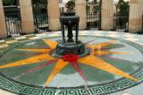 Cenotaph War Memorial, ANZAC Square - a heavy rain shower extinguished the Eternal flame